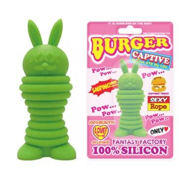 Burger Rabbit Pow Green