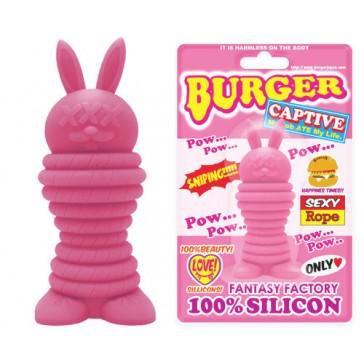 Burger Rabbit Pow Pink