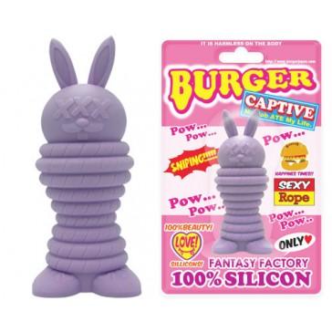 Burger Rabbit Pow Purple