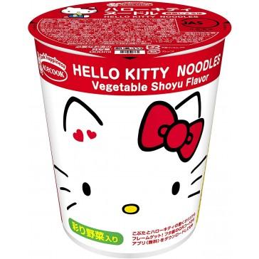 Hello Kitty Ramen Vegetable Shoyu Flavor
