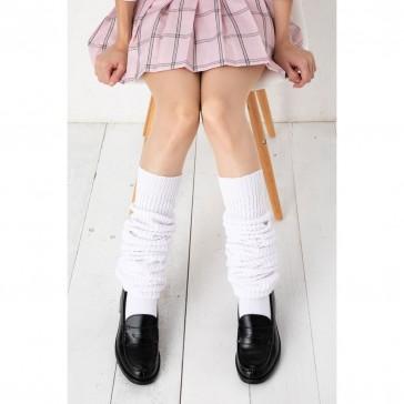 Otokonoko Loose Socks White (fits Men)