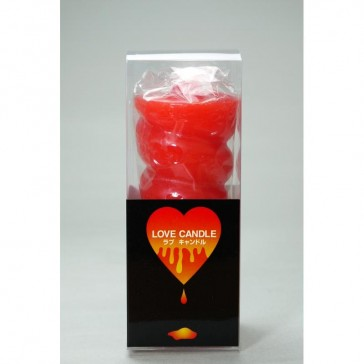 Love Candle Red