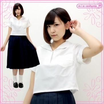 Otokonoko Kounanjoshi High School Uniform Top & Skirt Co-ord (fits Men)