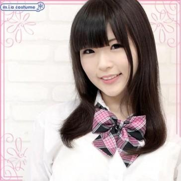 Otokonoko School Uniform Bow Tie Pink
