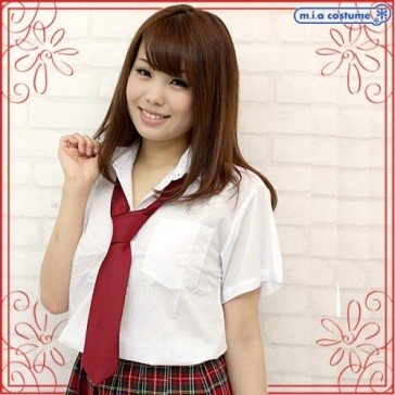 Otokonoko School Uniform Tie Red