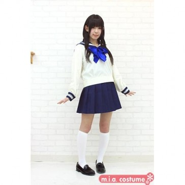 Otokonoko Tokyojogakkan High School Uniform Top & Skirt Co-ord (fits Men)