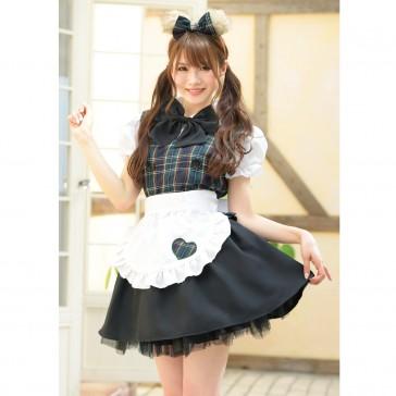 Sweet Bear Maid Costume