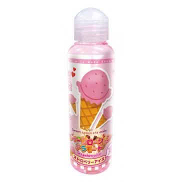 Sweet Lotion a la mode strawberry ice