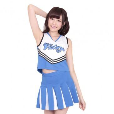 Unisex Cheerleader Uniform Blue