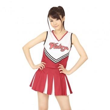 Unisex Cheerleader Uniform Red