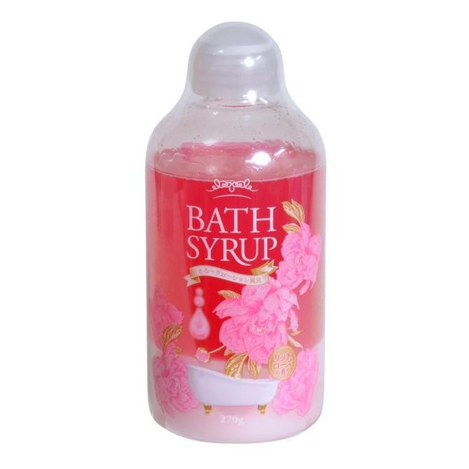 Bath Syrup Rich Rose