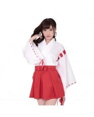 Unisex Miko Maiden Kimono